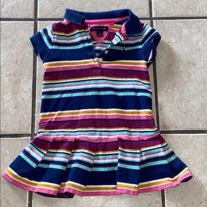 3T Tommy Hilfiger striped polo dress